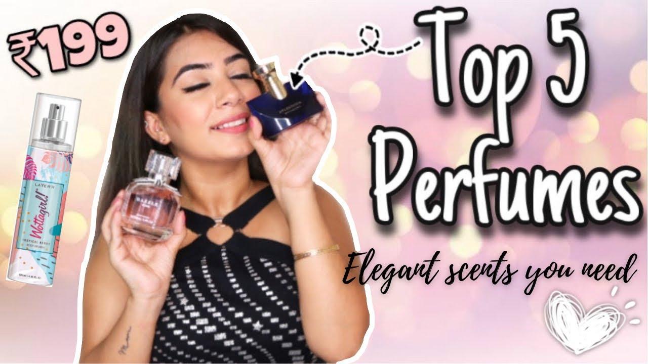 My Top 5 Perfumes | Fragrances I Love The Most | Affordable to Highend | Dilli ki Ladki