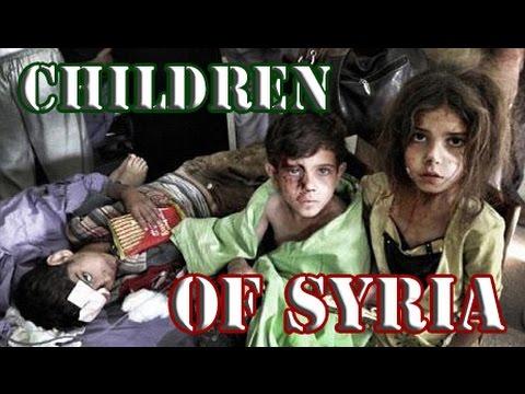 Syrian Children Lose Their Innocence In Times Of War ( Syrian Civil War)