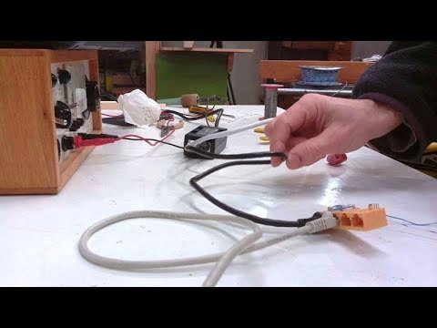 Raspberry Pi power over ethernet and mount it outside