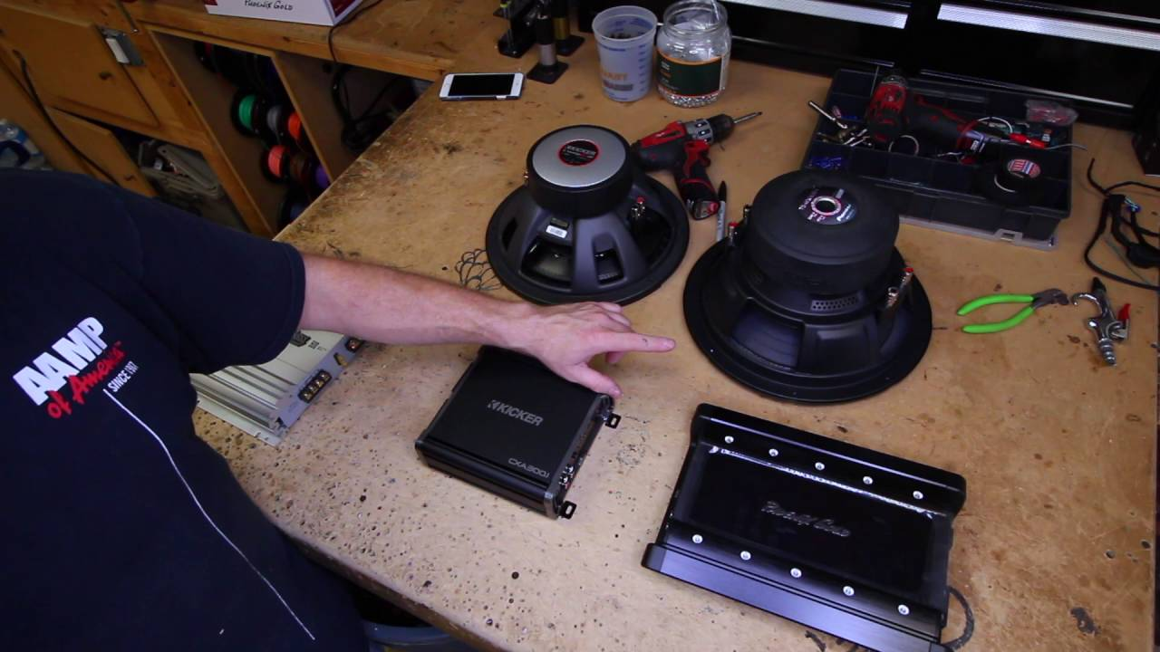 How To Choose The Right Ohm Subwoofer For Your Amp