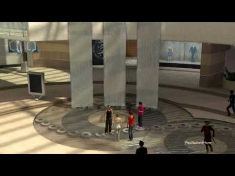 Playstation 3 Home: Second Mall Theme