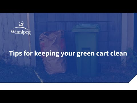 Tips for keeping your green cart clean