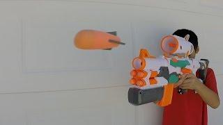 Which Nerf Gun Shoots The Farthest? Range Test
