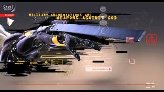 Deus Ex: Hacked Sarif website Broadcast from Pirat DJ Part 2