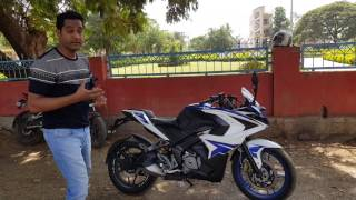 pulsar 200 rs 2017 bs4 first 1000 kms riding experience