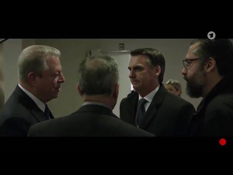 Bolsonaro a Al Gore: «Me encantaría explorar las riquezas del Amazonas con EE.UU»