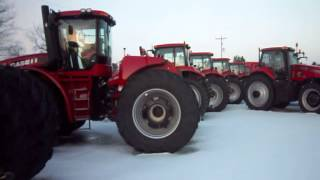 Bad Ass ! CASE IH STEIGER 500 SERIES TRACTOR with Quadtrac