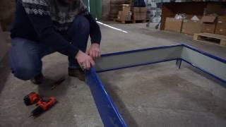 видео Грядки из металла с полимерным покрытием: достоинства, фото, отзывы, как установить своими руками