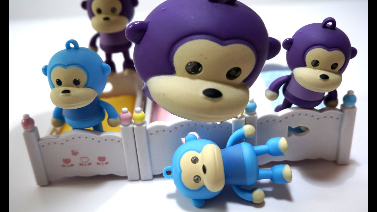 TOP Five Little Monkeys Jumping On The Bed Song