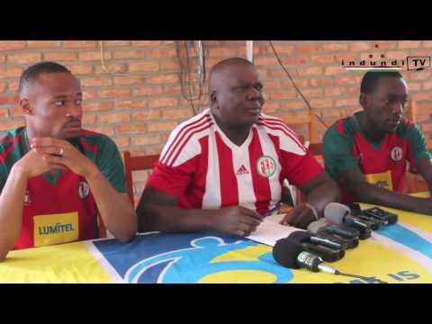 #indundi TV Umumenyereza ati 'Imyiteguro nisawa kumugwi w'Intamba mu Rungamba twiteze itsinzi