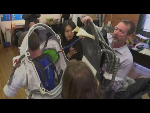 Watch | New Mars suit unveiled