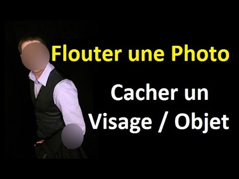 Tutoriel photofiltre comment flouter une photo cacher un visage ou un objet youtube - Comment cacher une television ...