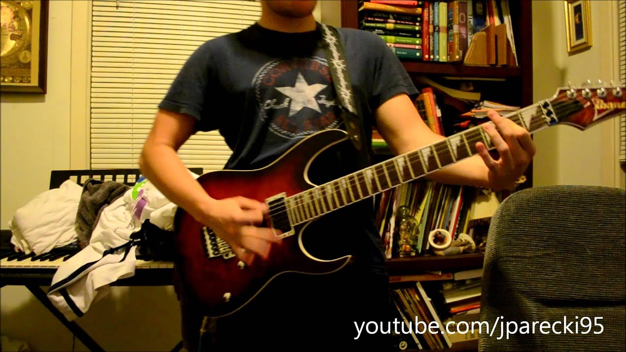 Teen Titans Theme Guitar Cover (Remastered mp3 now in description)
