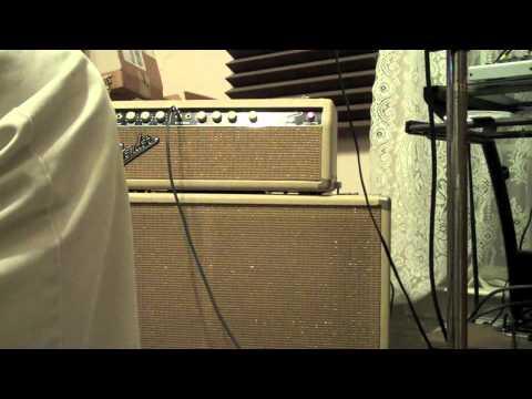 Hendrix Sound Check-Hey Joe Intro on a 1964 Blonde Piggyback Bassman