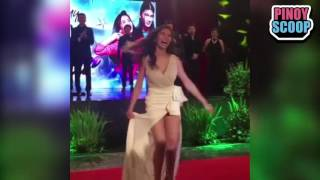 Jennylyn Mercado Underwear Flash On My Love From The Star Press Conference