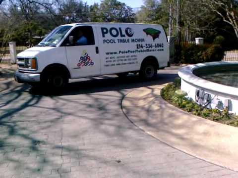 Polo Pool Table Mover YouTube - Polo pool table movers