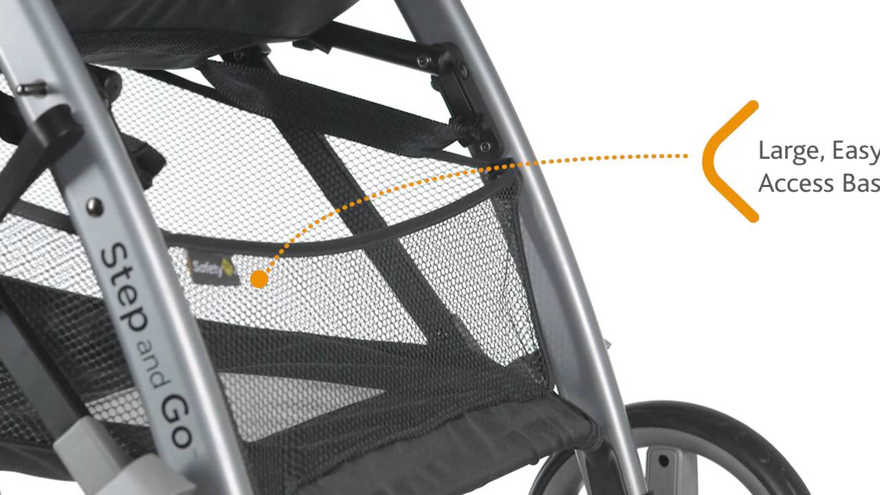 Safety 1st - Step and Go Travel System