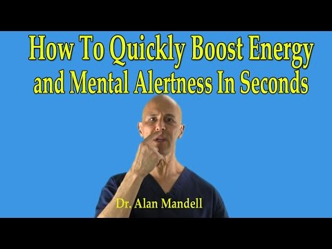 How To Quickly Boost Instant Energy and Mental Alertness in Seconds (Chinese Point) - Dr Mandell