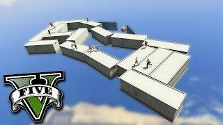 GTA V Online: O CLUBE da LUTA no CÉU!!!