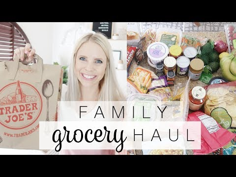 TODDLER MOM GROCERY HAUL 2018 / Trader Joe's