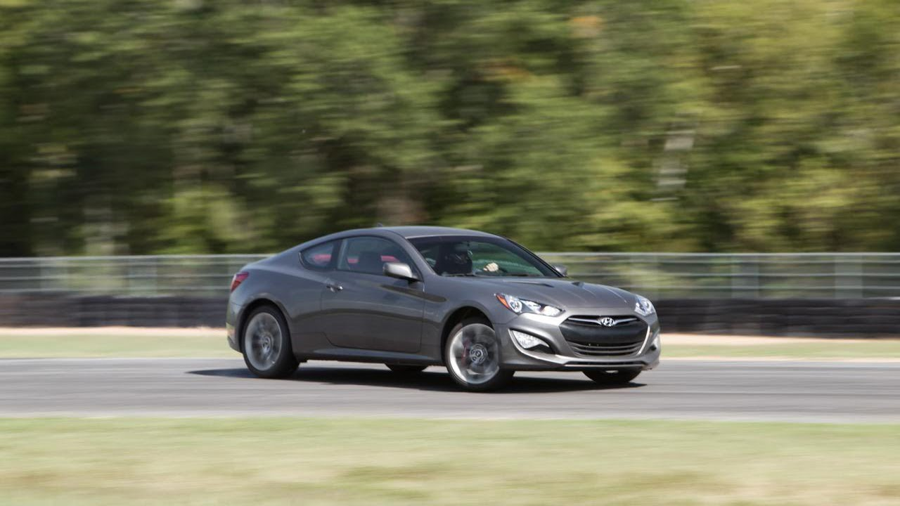 2013 Hyundai Genesis Coupe 3.8 R-spec - 2013 Lightning Lap - LL1 Class - CAR and DRIVER ...