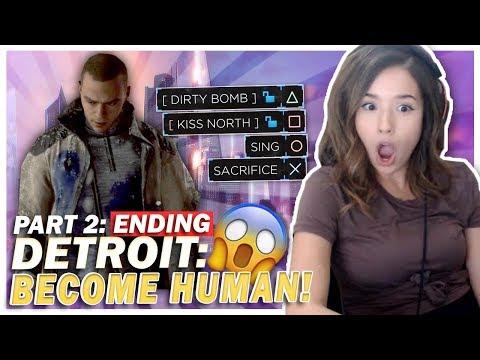 WTF!? The CRAZIEST Ending? Detroit: Become Human Part 2/2!