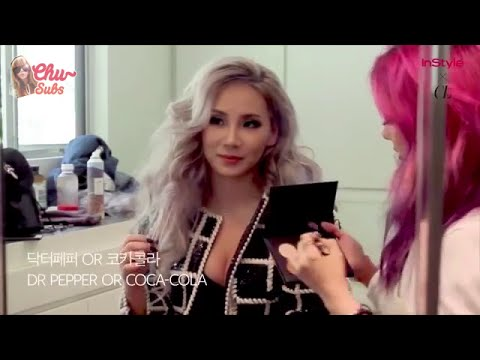 [ENG] 150903 InStyle Korea One of Two Quiz with CL