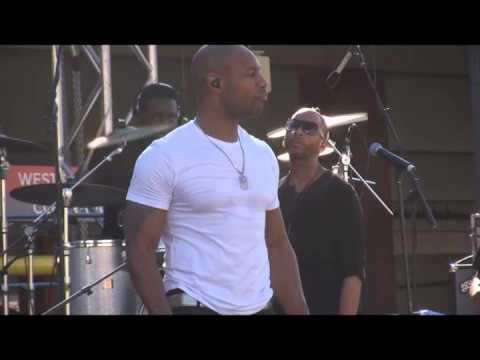 "R&B Singer Tank Performs ""Please Don't Go"" Live @ Baldwin Hills Crenshaw Plaza 2013"