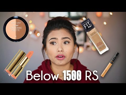 Full Face Of  Makeup Using Products Under 1500 Nrs | Nepali Language | Beautynepal |