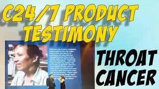 CANCER of the Throat SURVIVOR - AIM GLOBAL C24/7 TESTIMONY
