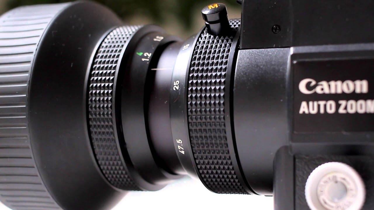 canon 512xl super 8 movie camera youtube