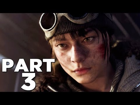 BATTLEFIELD 5 Walkthrough Gameplay Part 3 - HYPOTHERMIA - Campaign Mission 2 (Battlefield V)