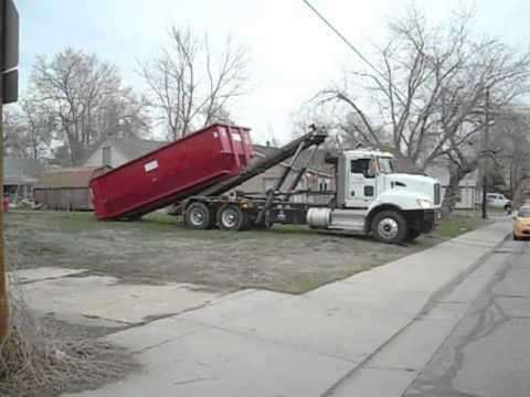 HBS Roll Off Dumpster Delivery - Residential