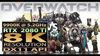Overwatch 8K gameplay | Overwatch RTX 2080 TI | Overwatch 8K resolution | 8K