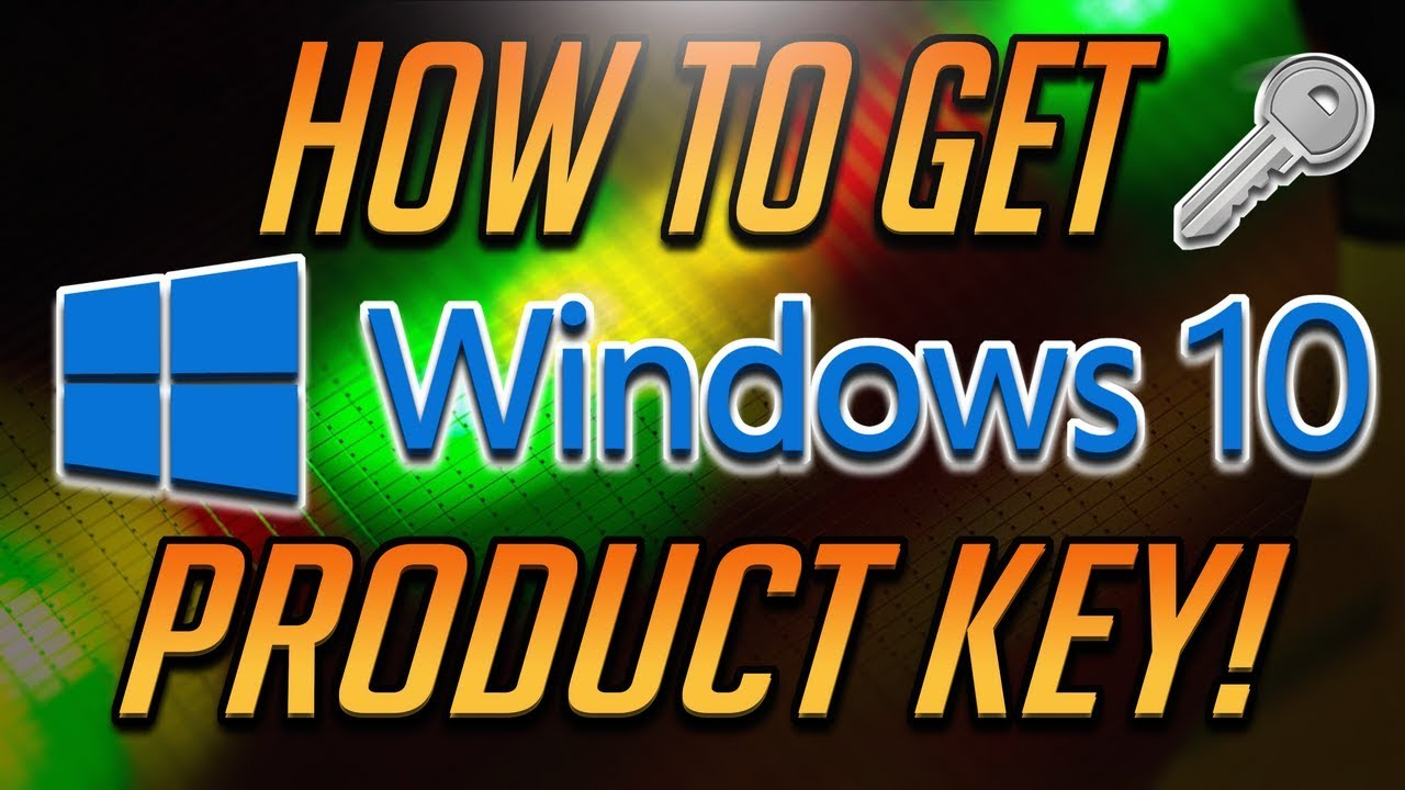 How to Get Windows 10 Product Key FOR FREE [2020 Tutorial ...