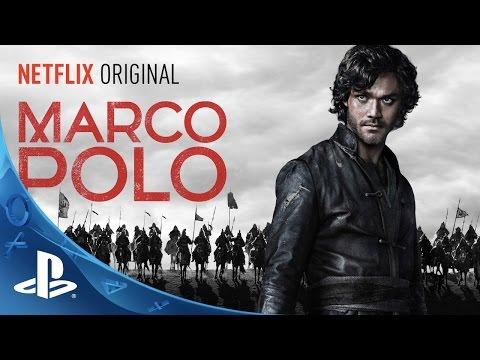 Netflix Exclusive Behind the s Look at Marco Polo  For PlayStation!!!