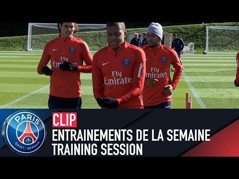 TRAINING SESSION -  ENTRAINEMENTS DE LA SEMAINE with Kylian Mbappé, Edinson Cavani, Neymar JR