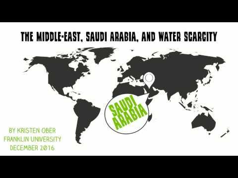 Saudi Arabia and Water Scarcity Presentation