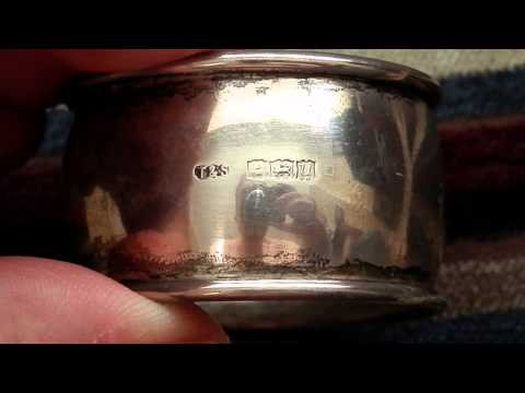 How to easily identify and date sterling silver hallmarks