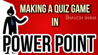 how to make a ppt interactive quiz game show in ms powerpoint tutorial