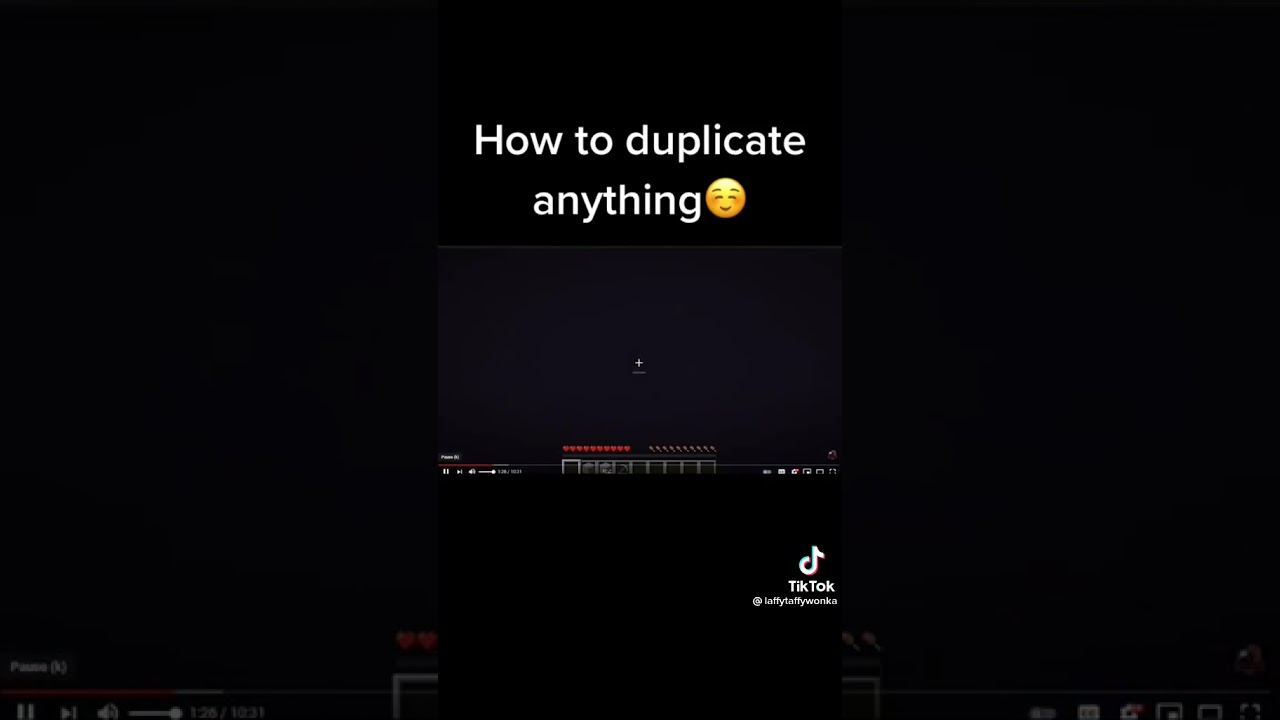 Download How To Duplicate Any Item In Minecraft!