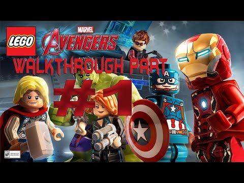Lego Marvel Superheroes 2 Walkthrough Part-1 Pc Gameplay - 동영상