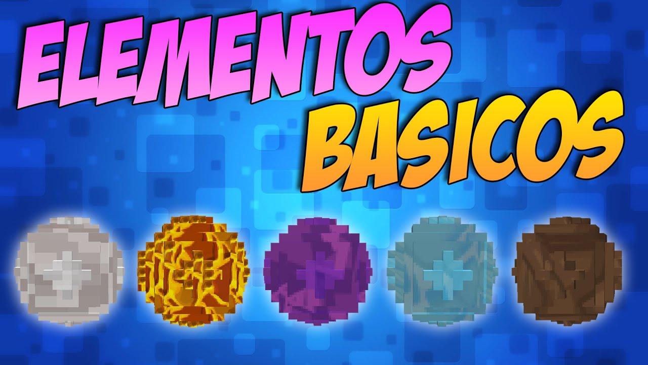 Basic Elements - 4 элемента [1.11-1.8.9]