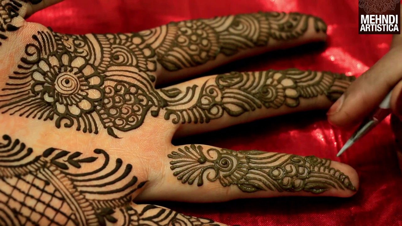 Mehndi Henna Buy : Easy simple mehndi henna designs tutorials design for hands