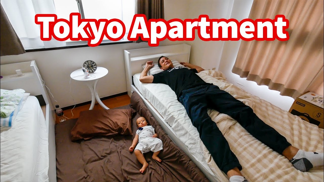 Living in Japan - TOKYO APARTMENT TOUR in Shinjuku | Where ...