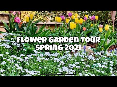 Garden Tour – Flower Garden Tour May 2021 – Spring