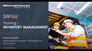 SAP Business One Inventory Management