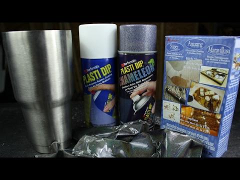 DIY | REMOVING EPOXY RESIN COATED PLASTI DIP