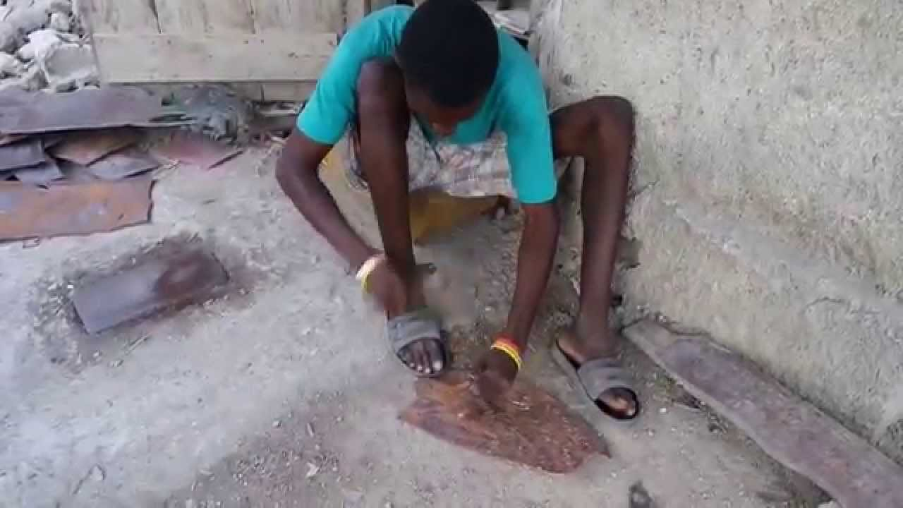 Metalwork Artists In Croix Des Bouquets Haiti Youtube