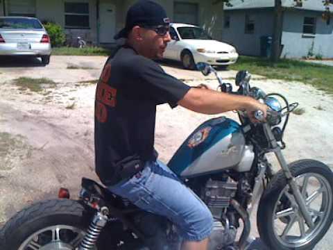 Kawasaki Vulcan Bobber Chopper Rat Rod Motorcycle Youtube